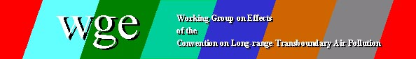 Logo of Working Group on Effects of the Convention on Long-range transboundary Air Pollution